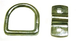 "Bolt on 1/2"" D-Ring.  Great for adding another tie down point to carrier beds.  Towing, tow, parts, accessories, equipment, transport, straps, chains, hooks, j, t, r, s, ratchets, mini, jerr dan, tie down, d ring, d loop, loopes, tie down point, miller."