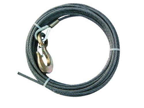 Quot diameter steel core winch cable with standard alloy