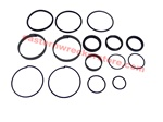 "Jerr Dan hydraulic cylinder seal kit, for cylinders with 4"" ID.  part# 7577250026.  Hydraulics, seals, rings, o, ring, kits, valve, valves, hydraulic, ram, rod, push, roll, tilt, extend, wheel lift, OEM, replacement, parts, accessories, towing, recovery."
