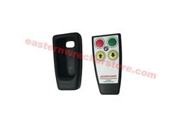 Jerr Dan Winch 2 Function Remote Control / Wireless Transmitter.  Works with Jerr Dan / Miratron System; Typically Found on Winch Function of Carriers.  Part # 9295310032 - Jerr Dan Towing, Recovery, and Transport Parts.