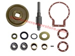 Jerr Dan / Ramsey Complete Worm Gear Winch Rebuild Kit - For Jerr Dan / Ramsey Winch Found on Jerr Dan Car Carriers.  HD234R Worm Gear Winch Rebuild KIt.