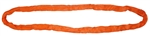 2 Ply Orange Round Sling Strap - 20' Long