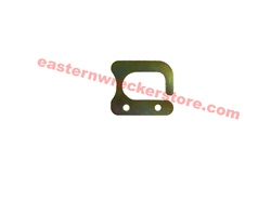 Jerr Dan winch cable hook part# 4706002899.  Fits heavy and medium duty Jerr-Dan Wreckers.  Winch cable latch, hook, attachment, plate, boom hook, towing parts, accessories, equipment, tow truck, miller, century.